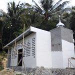 Pembangunan Masjid Desa Pussui Sudah 80% Selesai