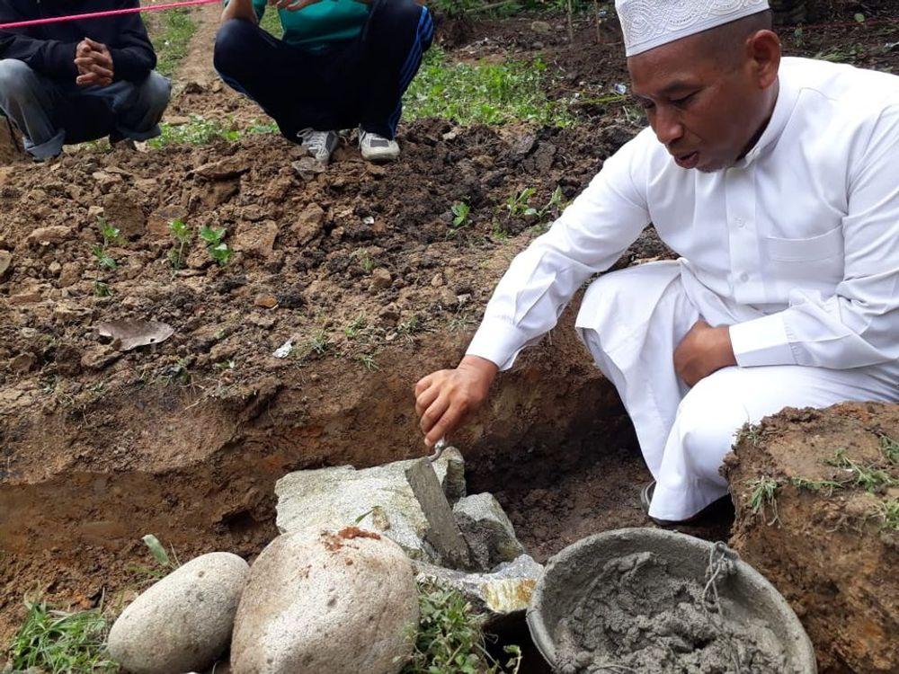 Pembangunan Masjid Desa Pussui dimulai