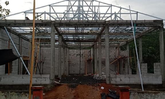 Update Pembangunan Masjid Darut Taubah, Mamuju
